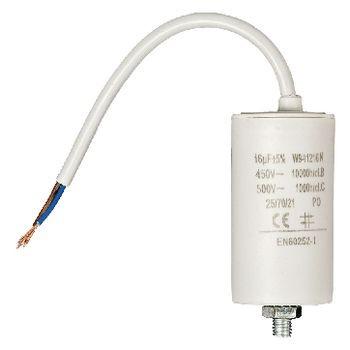 Kondensator 16.0uf / 450 V + cable