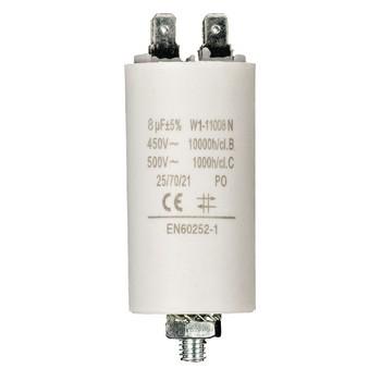 Kondensator 8.0uf / 450 v + Aarde