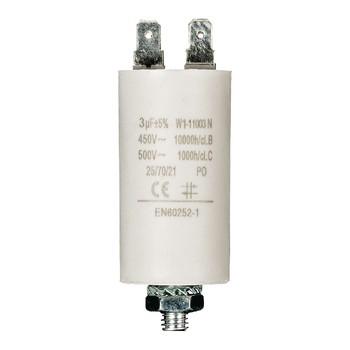 Kondensator 3.0uf / 450 v + Aarde