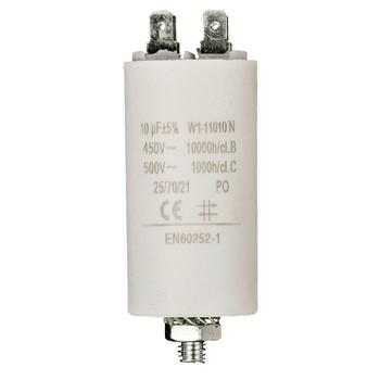 Kondensator 10.0uf / 450 v + Aarde