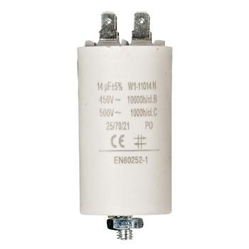 Kondensator 14.0uf / 450 v + Aarde