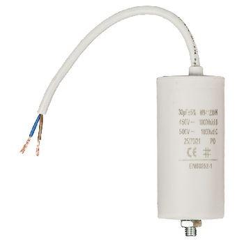 Kondensator 30.0uf / 450 V + cable