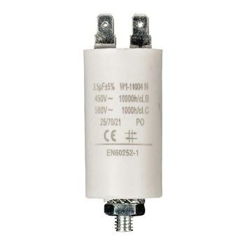 Kondensator 3.5uf / 450 v + Aarde