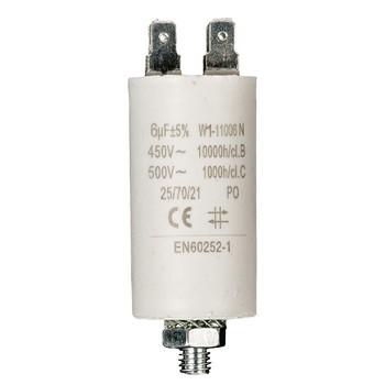 Kondensator 6.0uf / 450 v + Aarde