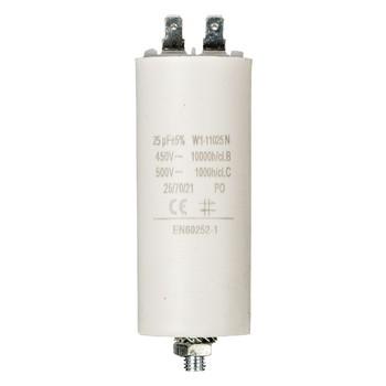 Kondensator 25.0uf / 450 v + Aarde