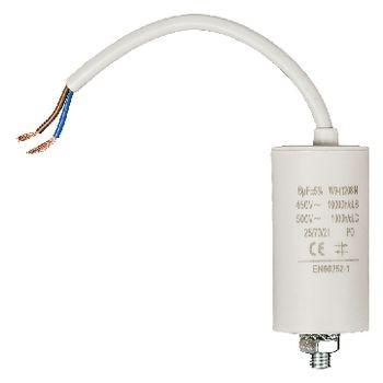 Kondensator 8.0uf / 450 V + cable