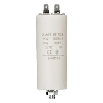 Kondensator 20.0uf / 450 v + Aarde