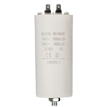 Kondensator 50.0uf / 450 v + Aarde