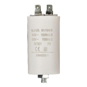 Kondensator 16.0uf / 450 v + Aarde